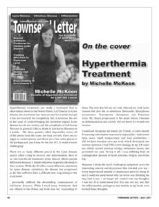 Michelle McKeon-Hyperthermia Treatment Townsend Article